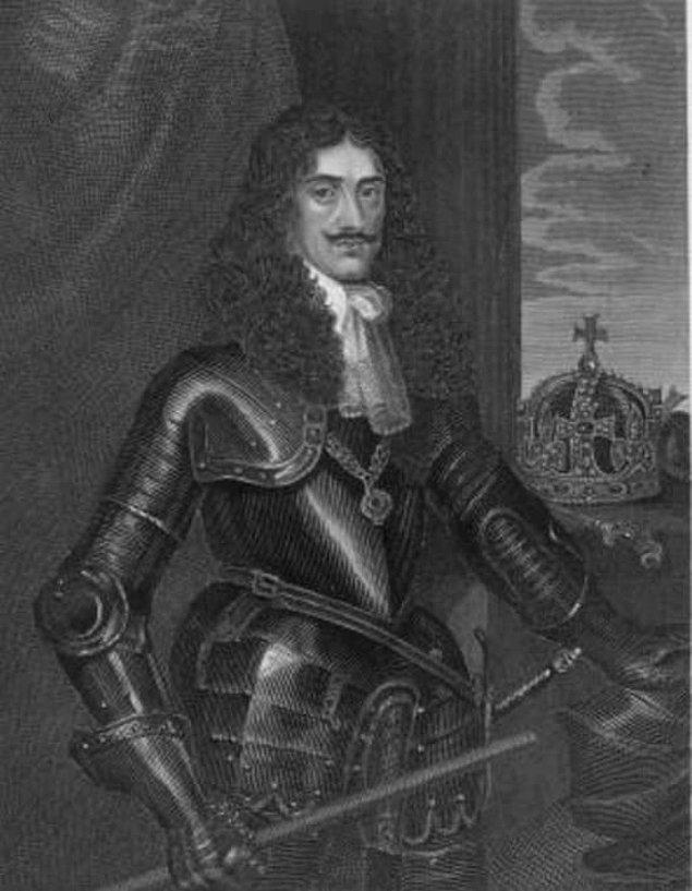 8. 2. Charles yeğeni William'ın eşiyle ilk gecesinde odada bulunarak onu teşvik etmeye çalıştı.