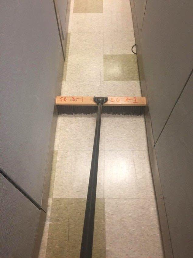 9. Koridoru tek seferde süpürebilen süpürge