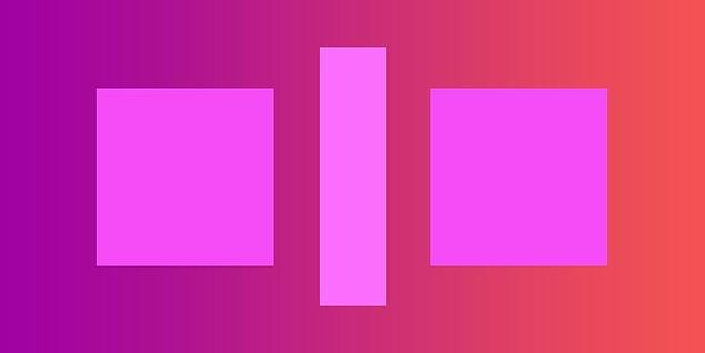 5. Sence bu iki kare farklı renkte mi?