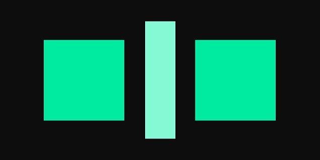 7. Sence bu iki kare farklı renkte mi?