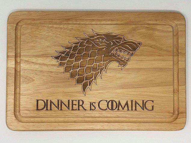 1. Game of thrones'da kış nasıl geliyorsa yemekleriniz de öyle gelsin!!