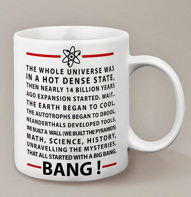 """4. """"Big Bang Theory başlıyor! Bu sefer jeneriğin tamamını söyleyeceğim...Söyleyemedi"""". Üzülmeyin bundan sonra tek seferde, hatta kahvenizi yudumlarken söyleyebileceksiniz."""