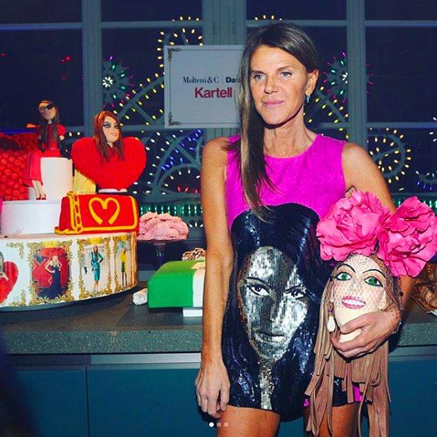 Hatta Gucci Challenge'ın ilk katılımcıları modanın seçkin isimleri oldu. Örneğin; Anna Dello Russo 😂