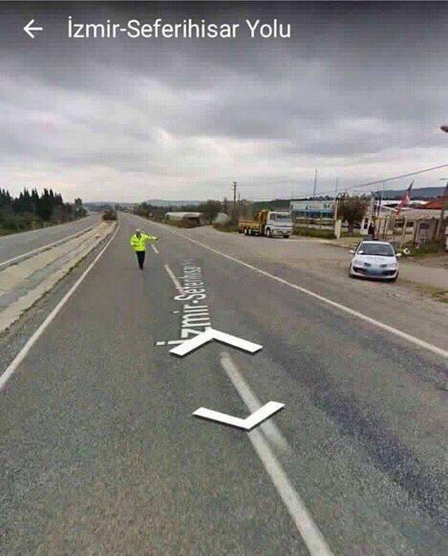 7. Google Maps aracı çevirmeye takılırsa...