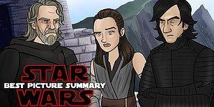 Star Wars Karakterleri 'The Last Jedi' Filminin Oscar'da Aday Gösterilmemesine Ateş Püskürdü