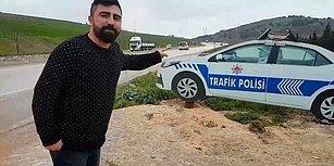 Polis Arabası Maketini Gerçek Sanıp Bir Buçuk Saat Gitmesini Bekleyen Ehliyetsiz Yurdum İnsanı