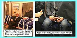 Metrolarda Yaşadıkları Komik Anları Paylaşarak Herkesi Güldüren 15 Kişi