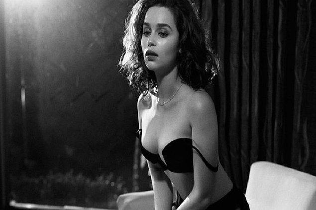 2- B Emilia Clark
