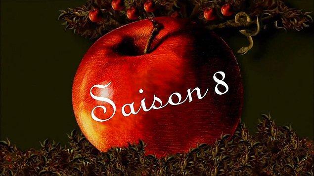 5. Hangi dizi bütün sezon afişlerinde elmayı kullandı acaba?
