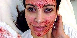 Kim Kardashian'ın Acısına Bir Daha Katlanıp Yaptırmayacağı Güzellik Uygulaması: Kan Maskesi