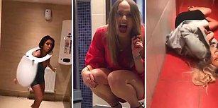 Erkeklerin Merak Ettiği, 'Kadınlar Tuvalette Ne Yapıyor' Sorusunun Cevabı İlginç Görüntüler
