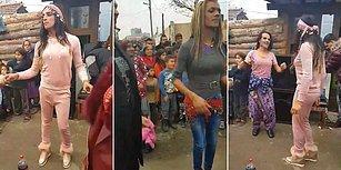Bulgaristan Sokaklarında Gönlünce Eğlenen Trans Bireyler