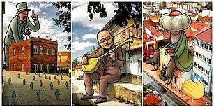 Eskişehir Sokaklarını Eğlenceli 'Lilliput'larla Dolduran Sanatçıdan 22 Muazzam Çalışma