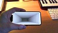 iPhone X Kullanılarak Yapılan Muhteşem Optik İllüzyon!