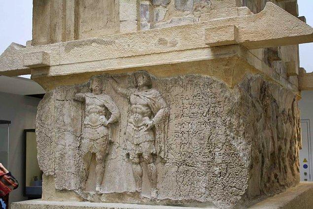 Payava Anıtı da 1842 yılında Charles Fellows tarafından British Museum'a götürüldü.