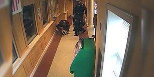 Boğulmak Üzere Olan Köpeğe Zamanında Müdahale Ederek Hayatta Tutan Kahraman Polisler