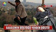 Fotoğraf Çektirirken Düşerek Hayatını Kaybeden Adamın Düştüğü Yerden Kızı da Düştü
