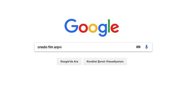 """Bu içeriğimize Google üzerinden """"Onedio film arşivi"""" yazarak ulaşabilirsiniz."""