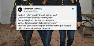 Adana'da Şehit Annesine Hakaret Eden Şoför, Her Gün Karakola Gidip İstiklal Marşı'nın Önünde İmza Atacak