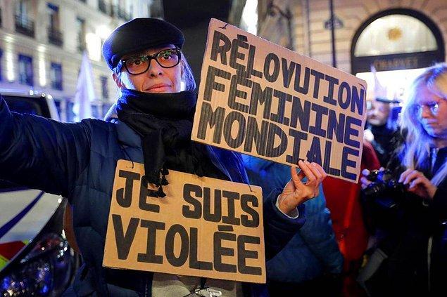 Fransa'da Kasım ayında 11 yaşında iki kız çocuğuna tecavüz eden iki erkeğin beraat etmesi büyük tartışma yaratmıştı.