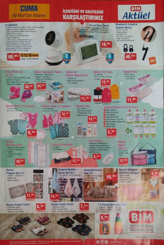 Bim 9 Mart Aktüel Ürünler Kataloğu Yayınlandı iPhone X 4999 TL 66