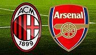Hakan ve Mesut Karşı Karşıya! Milan Arsenal Maçı Şifresiz TRT'de!