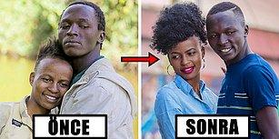 Kenyalı Evsiz Çiftin İmajında Yarattığı Değişiklikle Sevginin Gücünü Gösteren Fotoğrafçının Çalışmaları 📷
