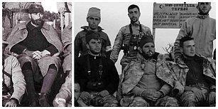 Trablusgarp Çöllerinden Afrin'e: Harekâta Katılan Askerler Atatürk ve Silah Arkadaşlarının Pozunu Verdi