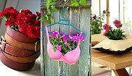 Çiçeklerinize Vazo Aramayın! Artık Ürünlerden Yapabileceğiniz Mükemmel Saksı Fikirleri