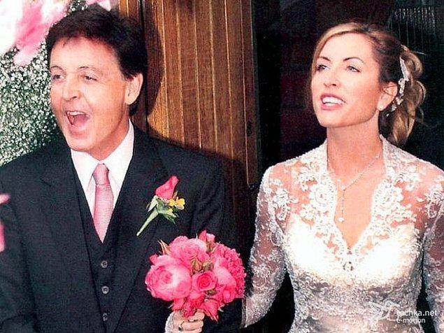 11. Paul McCartney ve Heather Mills