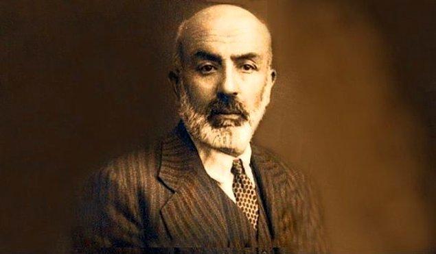 7. Mehmet Akif Ersoy'un adı