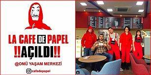 Sonunda Bu da Oldu! Samsun'da Açılan Konsept Kafe: La Cafe de Papel