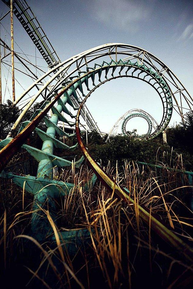 8. Roller coaster.
