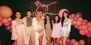 Şaşaalı Yaşantıların Pahalı Partileri! Doğumuna Az Kalan Khloe Kardashian'ın Baby Shower Partisi Çıtayı Resmen Uzaya Çıkardı!