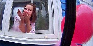 Rahatsız Rus Gencinden İlginç Doğum Günü Sürprizi