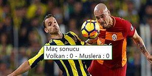 Nefes Kesen Derbide Gol Yok! Fenerbahçe - Galatasaray Maçının Ardından Yaşananlar ve Tepkiler