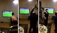 Galatasaray'ın Fenerbahçe Karşısında Son Saniyelerde Kaçırdığı Gol Sonrası Evi Talan Eden Aile