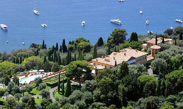 1. Villa Leopolda/ Nice/ Fransa - 2 milyar 200 milyon lira