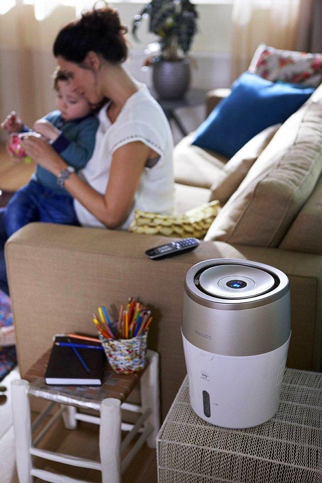 5. Bebeğiniz ya da kendiniz için evin havasını kalitelileştirmek ister miydiniz?