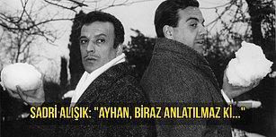 Sinemamızın İki Büyük Jönü, Buruk Bir Dostluk Hikayesinin Kahramanları: Sadri Alışık ve Ayhan Işık!