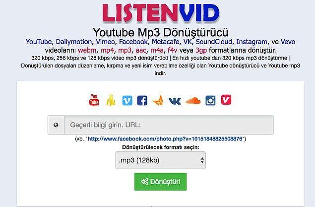 1. Listenvid.com