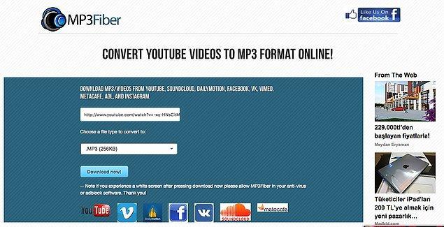 8. MP3fiber.com
