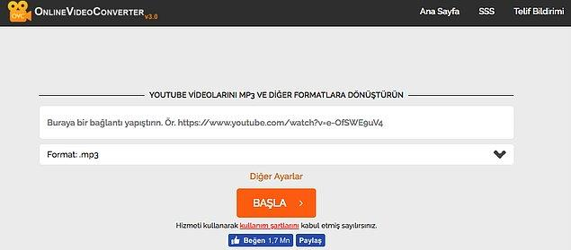 9. Onlinevideoconverter.com