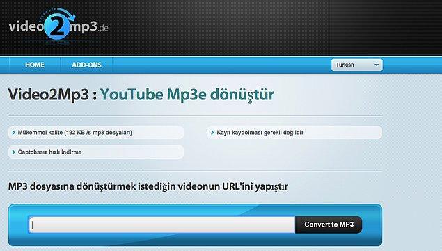14. Video2MP3