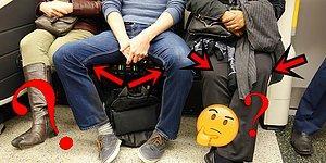 Erkeklerin Metroda Bacaklarını Sonsuzluğa Açarak Oturmasından Bıkan Kadının Tartışmalara Yol Açan Tepkisi