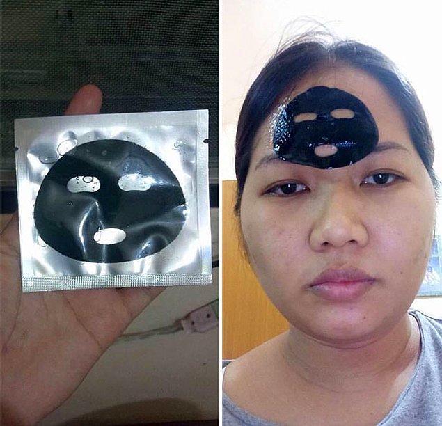 13. Karantinada yüz maskesi yapmak istemişimdir... 😂