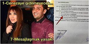 Seren Serengil ve Yaşar İpek'in Kapitülasyon Tadındaki Aşırı İlginç Maddeli İlişki Şartnamesi