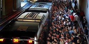 Metrobüs Tez Konusu Oldu: Duraklar Arası En Uzak Mesafe Yolcular Arasında