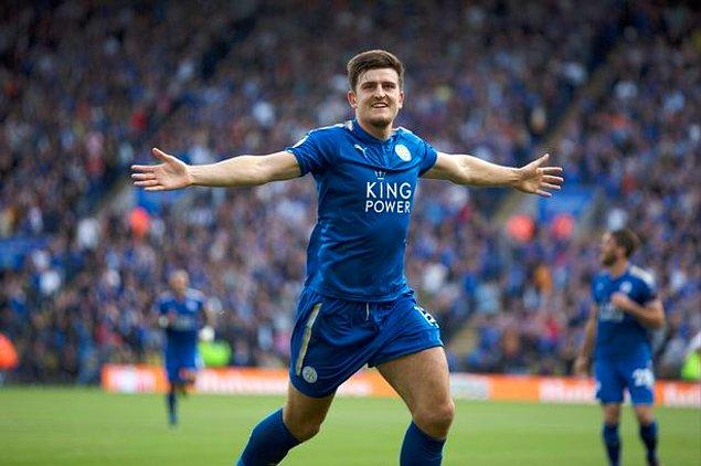 13. Harry Maguire - [Leicester City]