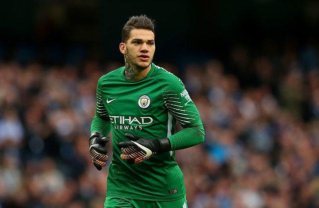 2. Ederson Moraes - [Manchester City]